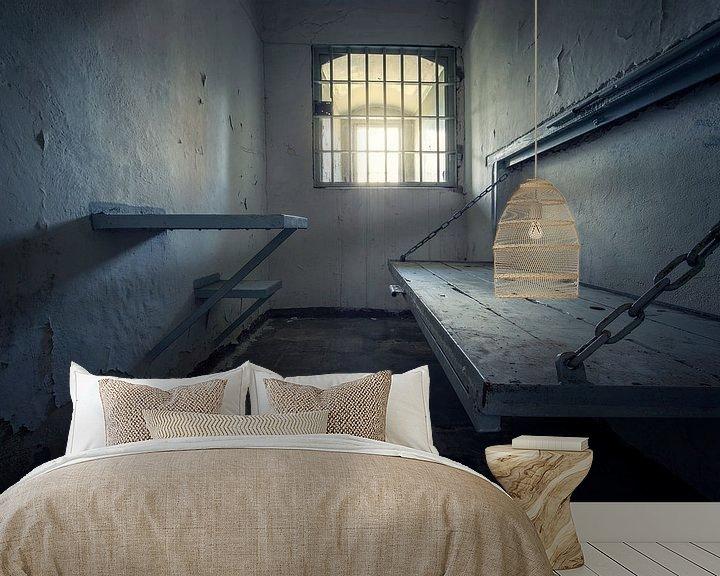 Beispiel fototapete: verlassenes Gefängnis von Kristof Ven