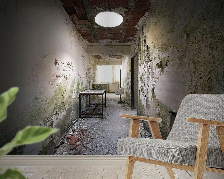 Beispiel fototapete: Verfallhalle von Kristof Ven