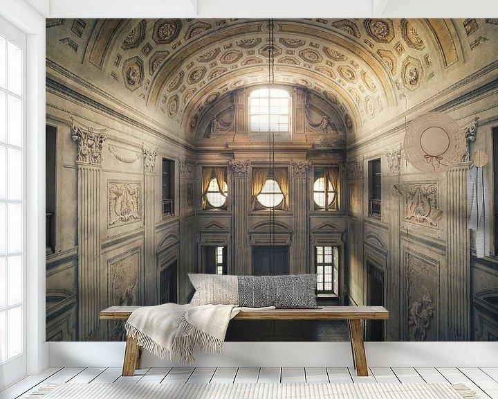 Beispiel fototapete: verlassene Halle von Kristof Ven