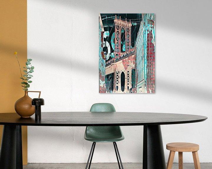 Impression: George Washington Bridge America sur PictureWork - Digital artist