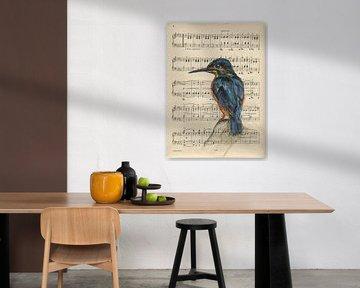 Eisvogel von sarah Loecker