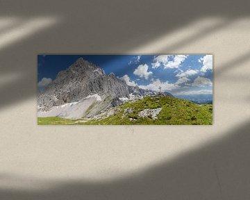 Bergpanorama Dachstein-Südwand sur Coen Weesjes