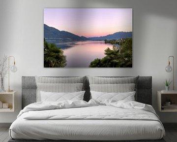zonsopkomst lago maggiore von Kristof Ven