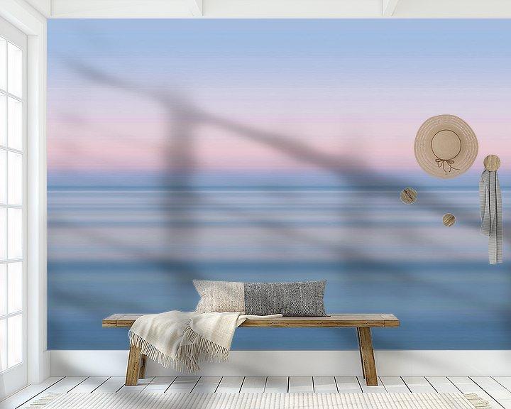 Sfeerimpressie behang: De zee, maar dan anders... van Kristof Ven