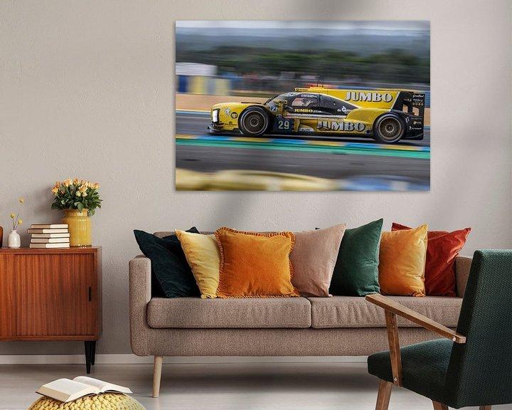 Sfeerimpressie: Jumbo Racing Team Nederland - 24 uur van Le Mans van Richard Kortland