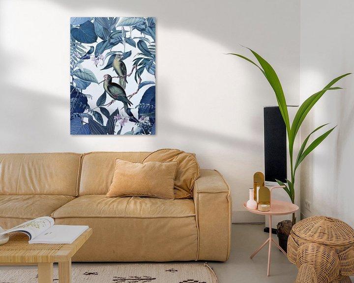 Sfeerimpressie: Jungle Blue Hour van Andrea Haase