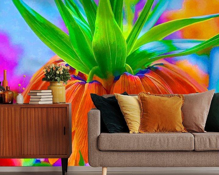 Beispiel fototapete: Keizerskroon part 3 von Ron Meijer Photo-Art