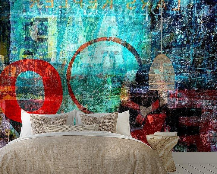 Sfeerimpressie behang: CORNERED van db Waterman