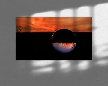 Sunset Kristallkugel 01