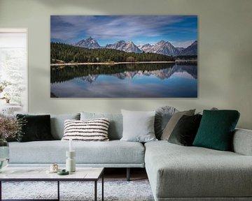 Jackson Lake Grand Teton van Marja Spiering
