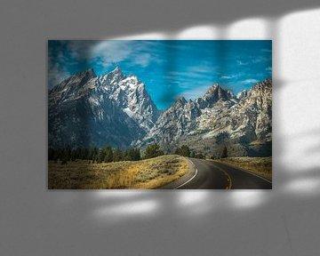 Grand Teton van Marja Spiering