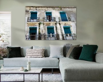 Die Fensterläden von Lissabon von Ellinor Creation