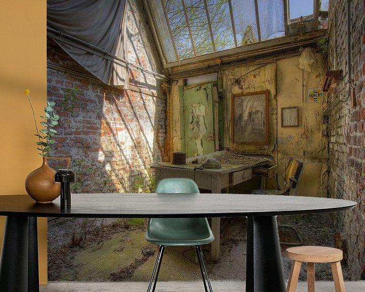 Beispiel fototapete: Tag im Decay Office von Wesley Van Vijfeijken