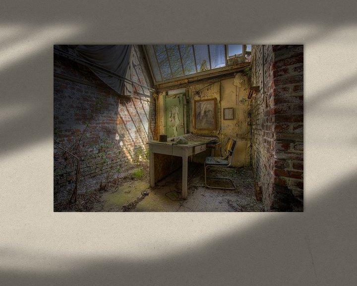 Beispiel: Tag im Decay Office von Wesley Van Vijfeijken