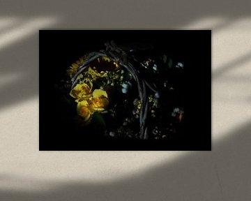 Gelbe rosen von Erik Reijnders
