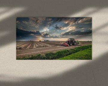 Akkerbouw in Groningen van Martijn van Dellen