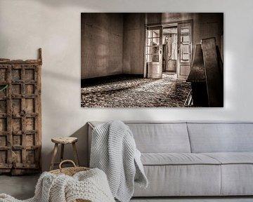 Verlassenes Wohnzimmer von Julian Buijzen