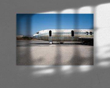 Verlaten Vliegtuig. van Roman Robroek