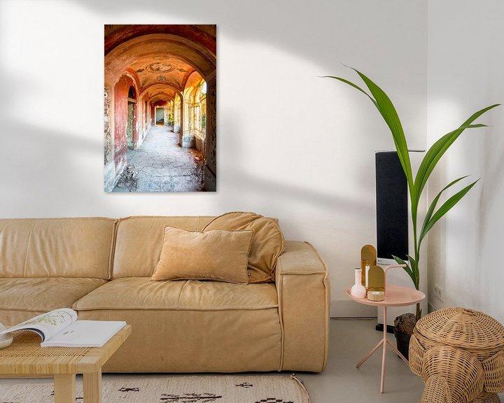 Beispiel: Sonnenuntergang in verlassener Halle. von Roman Robroek