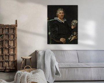 Porträt von Jan Govertsen van der Aer, Hendrick Goltzius