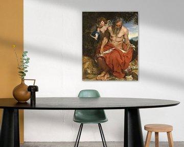 Heiliger Hieronymus, Anthony van Dyck