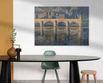 Pont Maas et Sappi sur Nop Briex