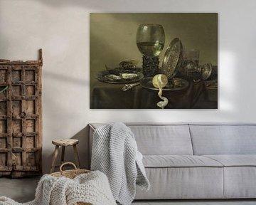 Stillleben mit Austern und Zitrone, Willem Claesz. Heda