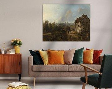 Ansicht von Montmartre, Johan Barthold Jongkind