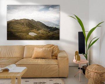 Klein bergmeer op meer dan 2000m hoogte van schulzano