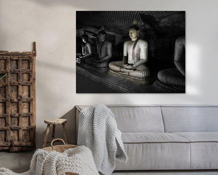 Beispiel: Höhlenbuddha von Eddie Meijer