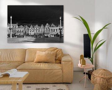 Dordrecht in Schwarz-Weiß von Petra Brouwer