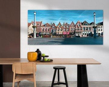 Ein wunderschönes Panorama von Dordrecht von Petra Brouwer