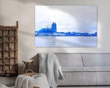 Dordrecht in blauw tinten van Ineke Duijzer