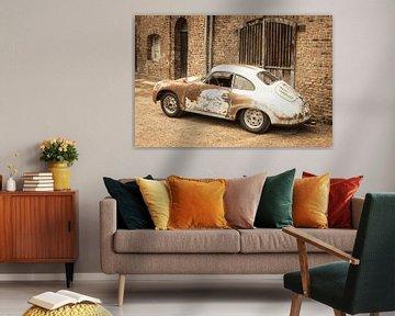 Porsche 356 Sportwagen-Scheune mit viel Patina gefunden von Sjoerd van der Wal