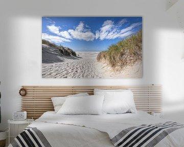 Strandopgang Texel / Beach entrance Texel van Justin Sinner Pictures ( Fotograaf op Texel)