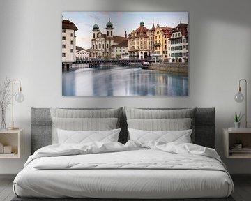 City of Luzern van Ilya Korzelius