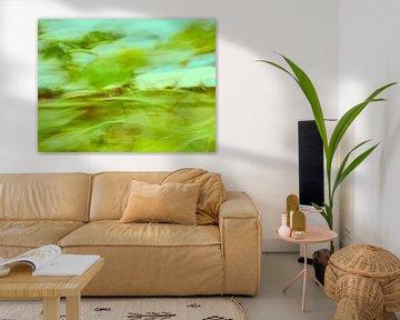 Sonnenblumen im Wind 7 von Andreas Gerhardt