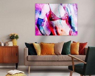 Rote Unterwäsche von 2BHAPPY4EVER.com photography & digital art