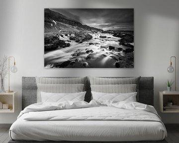 Fossalar, der kleine unbekannte isländische Wasserfall von Gerry van Roosmalen