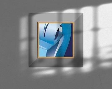 Blauw2 van Robert Smink