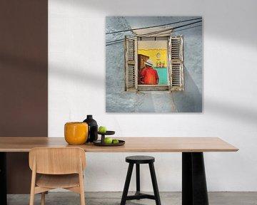 Curacao, muurschildering van Keesnan Dogger Fotografie