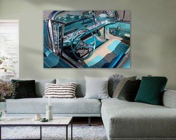 Interieur van een Chevrolet