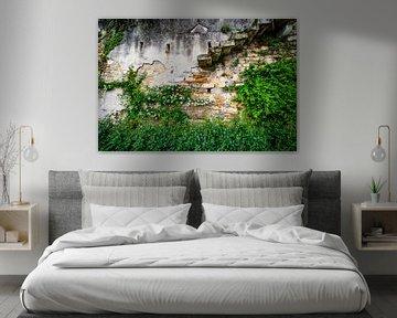 oude muur van Johan Vet