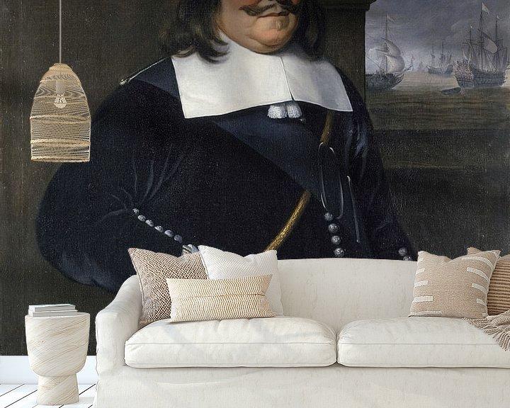 Beispiel fototapete: Michiel Adriaenszoon de Ruyter, Hendrick Berckman