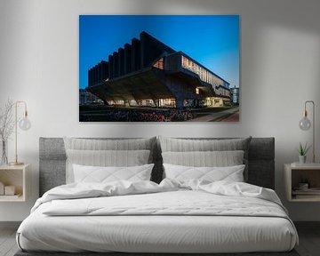 Aula Gebäude TU Delft von Raoul Suermondt