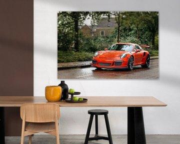 Porsche 911 GT3 RS sportwagen van Sjoerd van der Wal