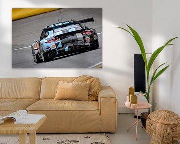 Porsche 911 RSR von Dempsey Racing-Proton von Sjoerd van der Wal