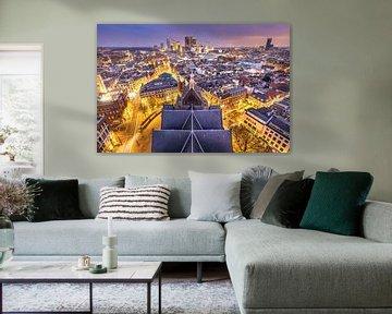 Skyline stad Den Haag / Haagse Toren von Original Mostert Photography