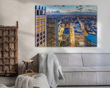 Skyline stad Den Haag von Original Mostert Photography