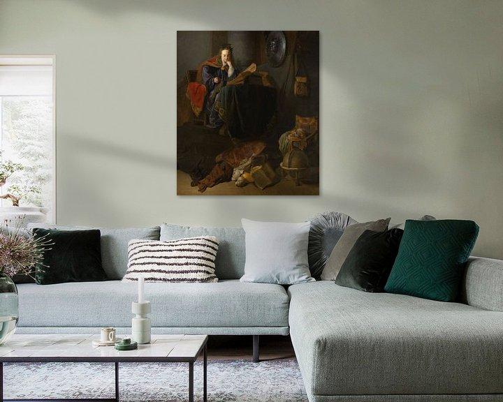 Beispiel: Minerva, Rembrandt van Rijn